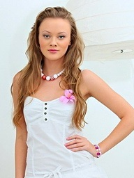 Lili Lamour on 21Sextury.Com - Lili and her beads