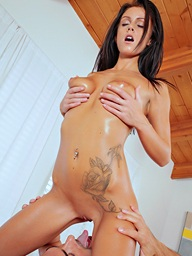 Nubile Films - photos featuring Whitney Westgate in All Oiled Up