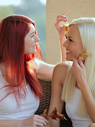Nubile Films - photos featuring Lena Love, and Kattie Gold in Girls Just Want To Have Fun